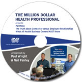 Contractor V's Employee Relationship in Health Care DVD